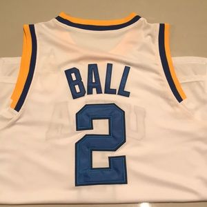 "AUTHENTIC, ""LonZo Ball,"" UCLA Jersey"
